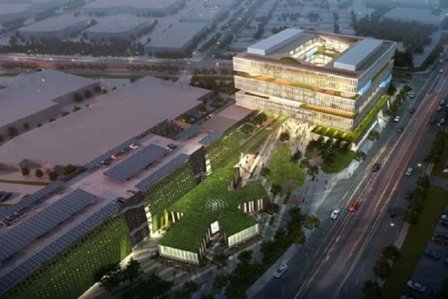 Samsung строит штаб-квартиру рядом с Apple и Google