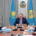 Бейбут Атамкулов доложил Президенту о работе по новым направлениям