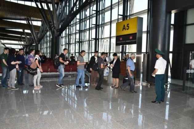 ВКазахстане перевезено почти 5млн авиапассажиров
