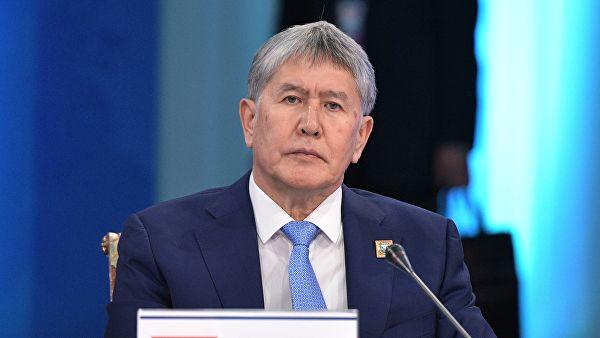 Алмазбек Атамбаев останется под стражей до 26 октября