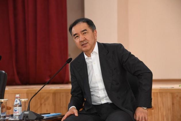 Бакытжан Сагинтаев ответил на критику в соцсетях