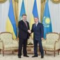 Состоялась встреча Нурсултана Назарбаева и Петра Порошенко