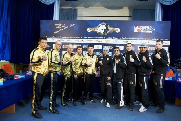 Боксеры Astana Arlans разгромили соперников из German Eagles