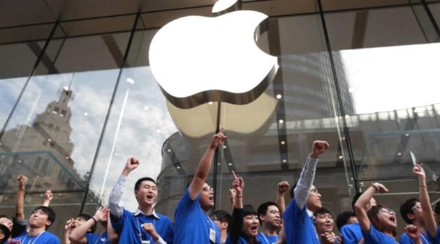 Продажи смартфонов Apple в Китае упали на 20%