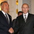 Путин назвал Назарбаева отцом-основателем ТС