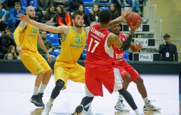 «Астана» проиграла «Красному Октябрю» в Единой лиге ВТБ