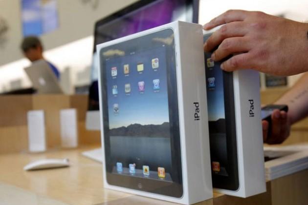 У iPad падает доля
