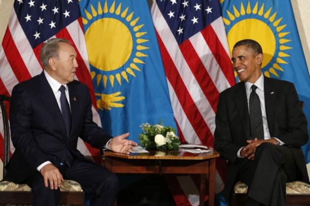 Барак Обама поздравил Нурсултана Назарбаева
