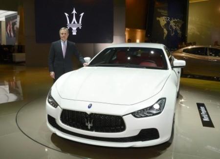 В Шанхае состоялся публичный дебют Maserati Ghibli