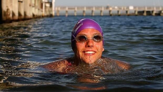Австралийская пловчиха не смогла установить мировой рекорд