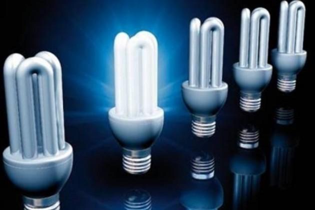 Энергосберегающие лампы сокращают расход электроэнергии в 5 раз