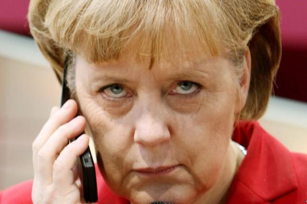 Меркель спрячется от спецслужб США