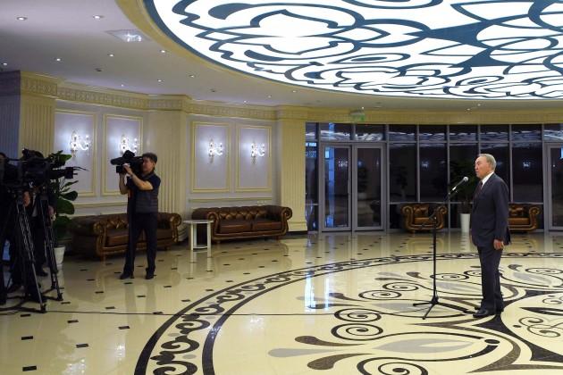 Нурсултан Назарбаев: Алматинская область находится нахорошем старте