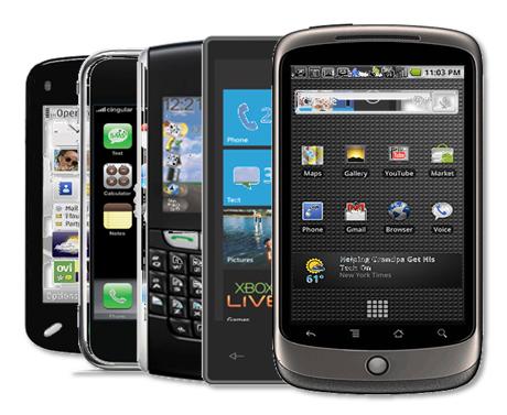 Лидеры на рынке смартфонов