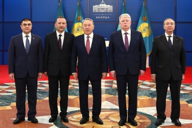 Верительные грамоты ПрезидентуРК вручили послы четырех стран