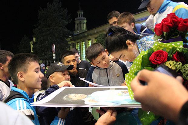 Дарига Шакимова: Мы чувствовали, что весь Казахстан с нами