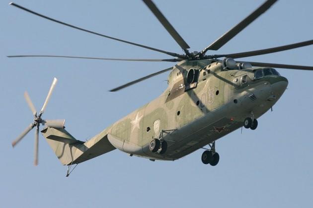 Выявлен незаконный вывоз военных вертолетов из РК