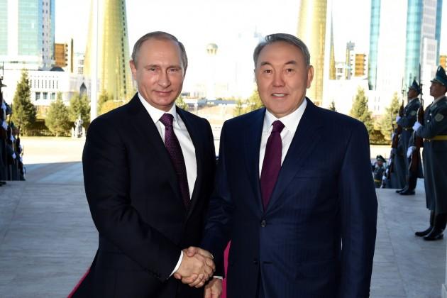 Нурсултан Назарбаев иВладимир Путин обсудили дальнейшее сотрудничество