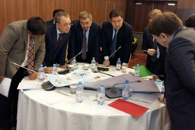 Аскар Жумагалиев провел «мозговой штурм» свице-министрами