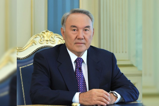 Нурсултан Назарбаев: Работа заставляет быть втонусе