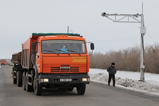 В РК закрыты 11 постов стационарного транспортного контроля