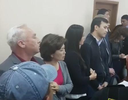 Вынесен приговор Сейтказы и Асету Матаевым