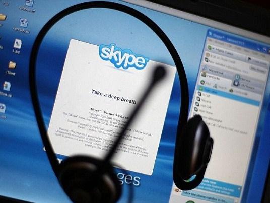 Спецслужбы России могут прослушивать Skype