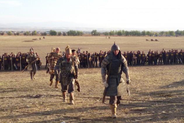 В Талдыкоргане состоялась историческая реконструкция Орбулакской битвы