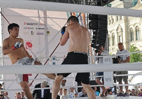 Казахстанские бойцы ММА уступили соперникам из России
