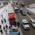 В России массово протестуют дальнобойщики