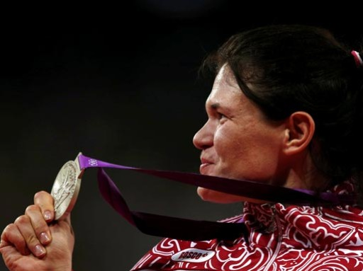 Призер лондонской Олимпиады подверглась дисквалификации
