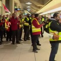 В восьми аэропортах Германии началась забастовка
