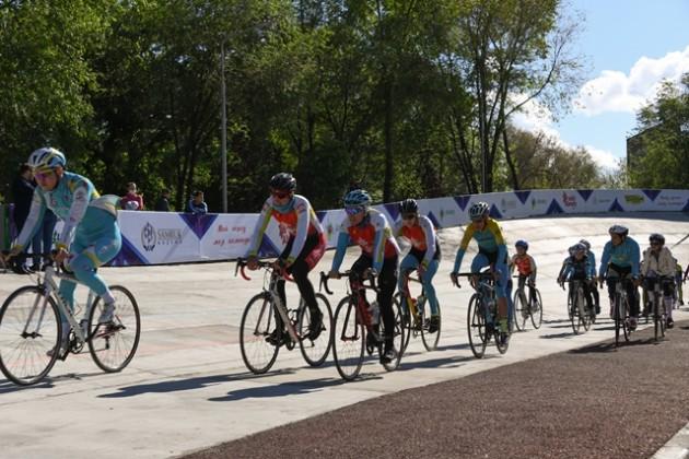 Заброшенный велотрек отремонтировали в Алматы