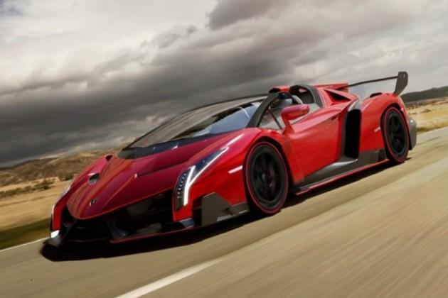 Lamborghini Veneno Roadster – официальные фото