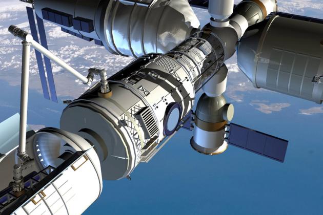 Китай анонсировал строительство собственной орбитальной станции