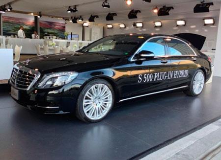 Новый седан от Mercedes-Benz