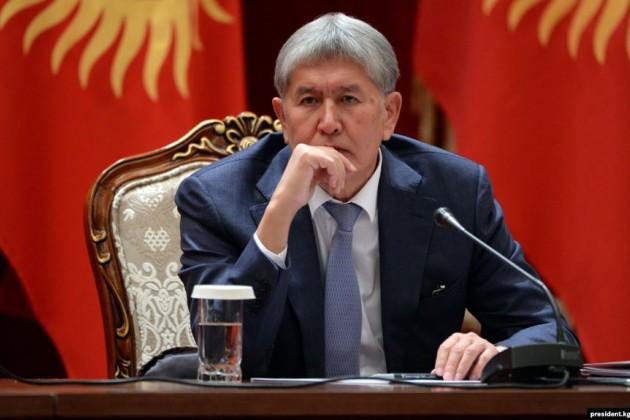 Задержан экс-президент Кыргызстана Алмазбек Атамбаев