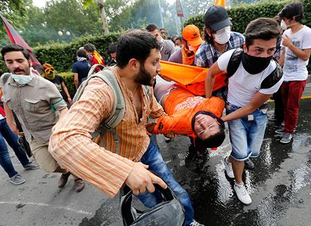 Из-за беспорядков в Турции пострадали 3 тыс. человек