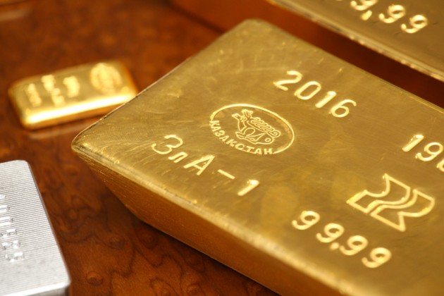 Золото составляет уже 42% отрезервовРК