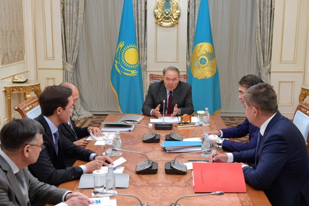 Президенту представили концепцию создания онкоцентра вАстане