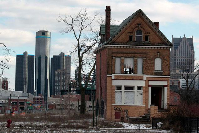 Детройт обогнал города США по росту цен на жилье