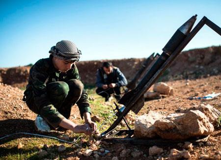 США отправят в Сирию стрелковое оружие