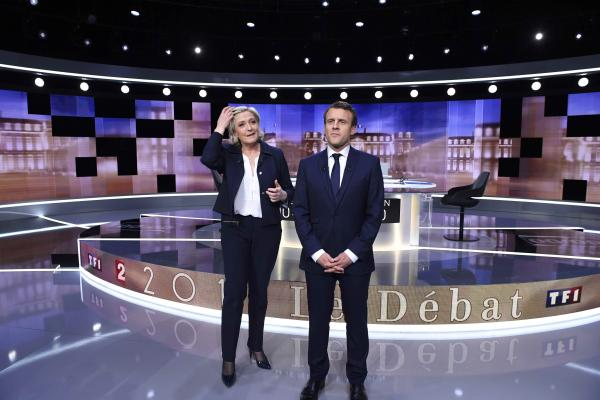 Эммануэль Макрон выиграл предвыборные дебаты воФранции