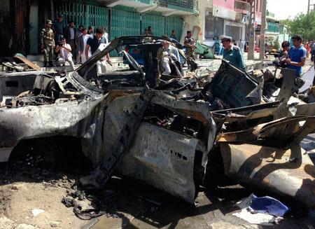 Смертник взорвал международный конвой в Афганистане