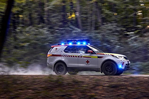Land Rover создал Discovery для спасателей
