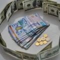 Дневные торги: 376,47 тенге за доллар