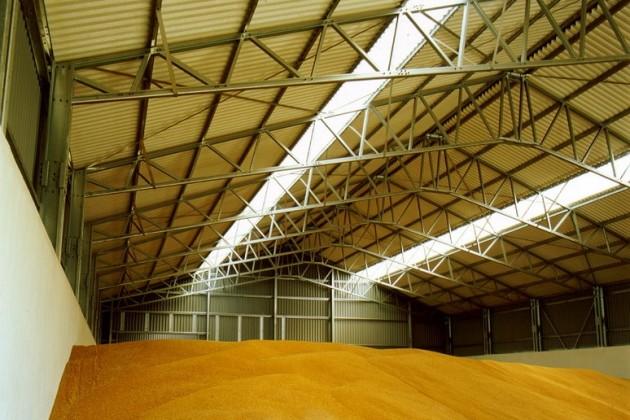 До конца года откроются 5 зернохранилищ