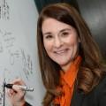 Мелинда Гейтс: Чтобы был результат, по мячу надо бить изо всех сил