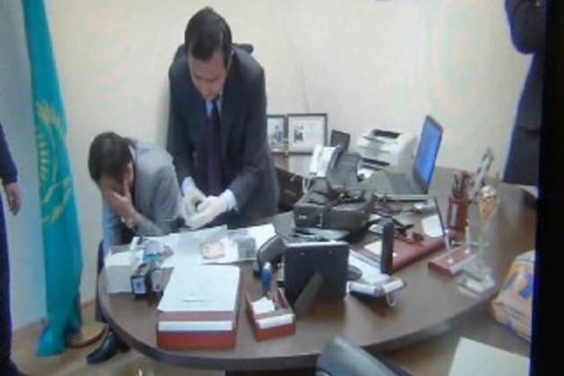В Кызылорде задержан чиновник