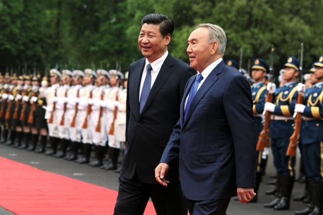 Нурсултан Назарбаев поздравил СиЦзиньпина